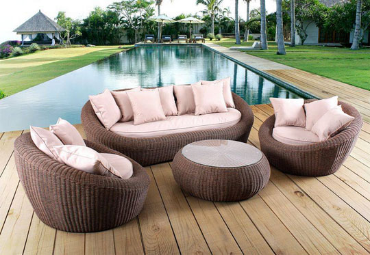terrasse jardin mobilier. Black Bedroom Furniture Sets. Home Design Ideas