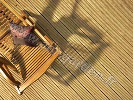 Kit de terrasse en bois (42mètres carrés)