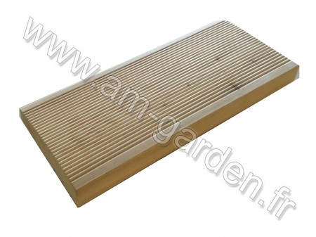 Planche de terrasse en Meleze 28*145*3000mm