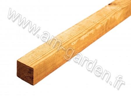 Lambourde en bois 50*75*3000mm Marron