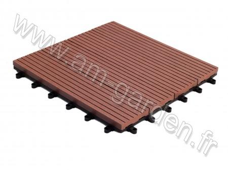 Dalle de terrasse en composite 300*300mm (1m² = 12 dalles)