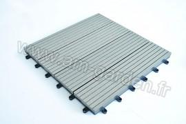 Dalle de terrasse en composite 300*300mm (1m²= 12 dalles)